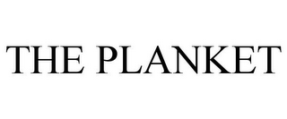 mark for THE PLANKET, trademark #85951939