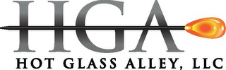 mark for HGA HOT GLASS ALLEY, LLC, trademark #85952139