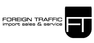 mark for FOREIGN TRAFFIC IMPORT SALES & SERVICESFT, trademark #85952325