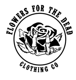 mark for FLOWERS FOR THE DEAD CLOTHING CO, trademark #85952335