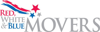 mark for RED WHITE & BLUE MOVERS, trademark #85952367