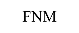 mark for FNM, trademark #85952487