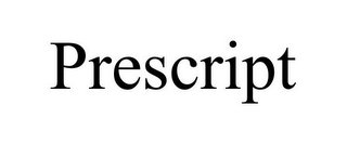 mark for PRESCRIPT, trademark #85952601