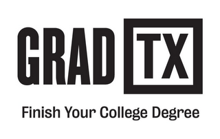 mark for GRAD TX FINISH YOUR COLLEGE DEGREE, trademark #85952830