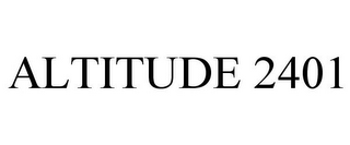 mark for ALTITUDE 2401, trademark #85953169