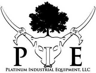 mark for PIE PLATINUM INDUSTRIAL EQUIPMENT, LLC, trademark #85953449
