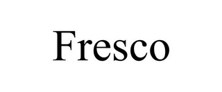mark for FRESCO, trademark #85953576