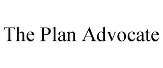 mark for THE PLAN ADVOCATE, trademark #85953616