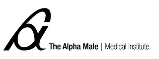 mark for THE ALPHA MALE | MEDICAL INSTITUTE, trademark #85953653