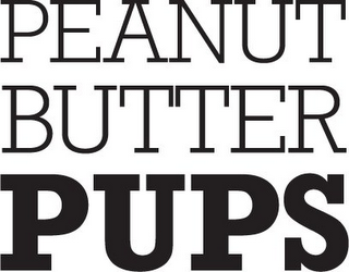mark for PEANUT BUTTER PUPS, trademark #85953716