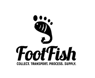 mark for FOOTFISH COLLECT. TRANSPORT. PROCESS. SUPPLY., trademark #85953794