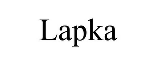 mark for LAPKA, trademark #85953913