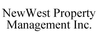 mark for NEWWEST PROPERTY MANAGEMENT INC., trademark #85954361