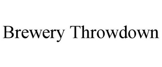 mark for BREWERY THROWDOWN, trademark #85954866