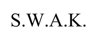 mark for S.W.A.K., trademark #85955114