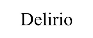 mark for DELIRIO, trademark #85955354