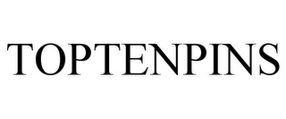 mark for TOPTENPINS, trademark #85955410