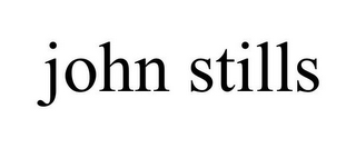 mark for JOHN STILLS, trademark #85955658