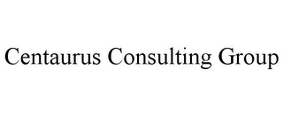mark for CENTAURUS CONSULTING GROUP, trademark #85955908