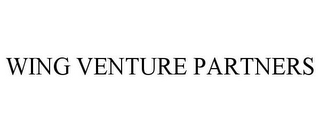 mark for WING VENTURE PARTNERS, trademark #85956089