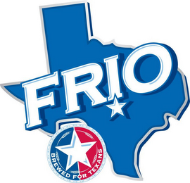 mark for FRIO BREWED FOR TEXANS, trademark #85956140