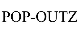mark for POP-OUTZ, trademark #85956202