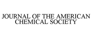 mark for JOURNAL OF THE AMERICAN CHEMICAL SOCIETY, trademark #85956317