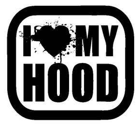 mark for I MY HOOD, trademark #85956320