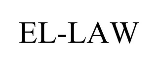 mark for EL-LAW, trademark #85956886