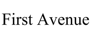 mark for FIRST AVENUE, trademark #85957087