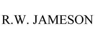 mark for R.W. JAMESON, trademark #85957520
