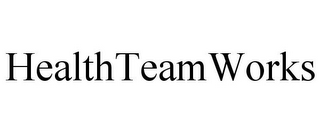 mark for HEALTHTEAMWORKS, trademark #85958366