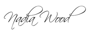 mark for NADIA WOOD, trademark #85958442