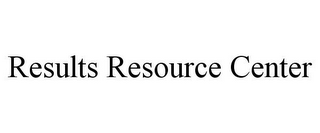 mark for RESULTS RESOURCE CENTER, trademark #85958905