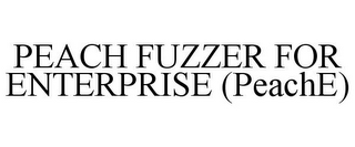 mark for PEACH FUZZER FOR ENTERPRISE (PEACHE), trademark #85959099