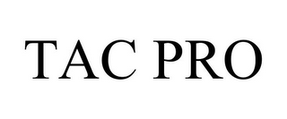 mark for TAC PRO, trademark #85959180