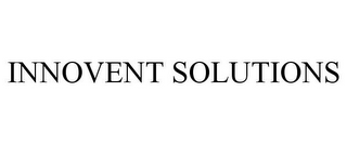 mark for INNOVENT SOLUTIONS, trademark #85959381