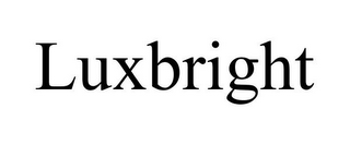 mark for LUXBRIGHT, trademark #85959859