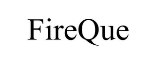 mark for FIREQUE, trademark #85959937