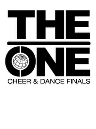 mark for THE ONE CHEER & DANCE FINALS, trademark #85959961