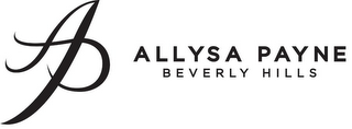 mark for AP ALLYSA PAYNE BEVERLY HILLS, trademark #85960069