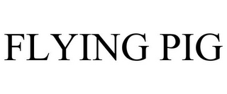mark for FLYING PIG, trademark #85960281