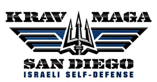 mark for KRAV MAGA SAN DIEGO ISRAELI SELF-DEFENSE, trademark #85960425