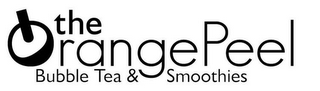 mark for THE ORANGEPEEL BUBBLE TEA & SMOOTHIES, trademark #85960432