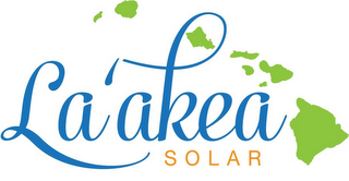mark for LA'AKEA SOLAR, trademark #85960585