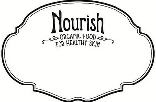 mark for NOURISH ORGANIC FOOD FOR HEALTHY SKIN, trademark #85960601