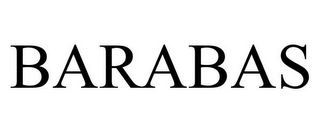 mark for BARABAS, trademark #85960674
