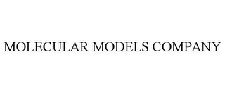 mark for MOLECULAR MODELS COMPANY, trademark #85960776