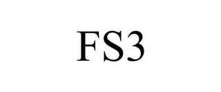 mark for FS3, trademark #85960927