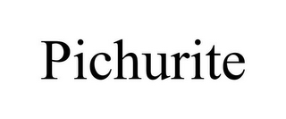 mark for PICHURITE, trademark #85961072